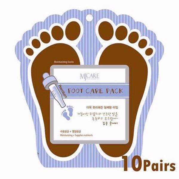 [MIJIN] Premium Foot Care Pack 10Pairs (Moisturizing Socks for Moisturizing & Nutrients)