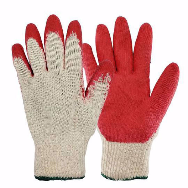 [The Elixir] String Knit Palm, Latex Dipped Nitrile Coated Work Gloves 10Pairs for General Purpose, Safety Working Gloves, Made in Korea