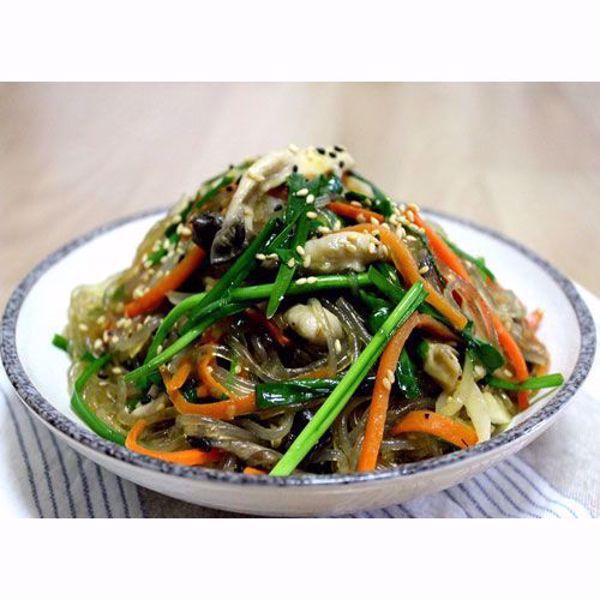 [YummyDiners] Japchae for Vegan & Vegetarian 부추잡채