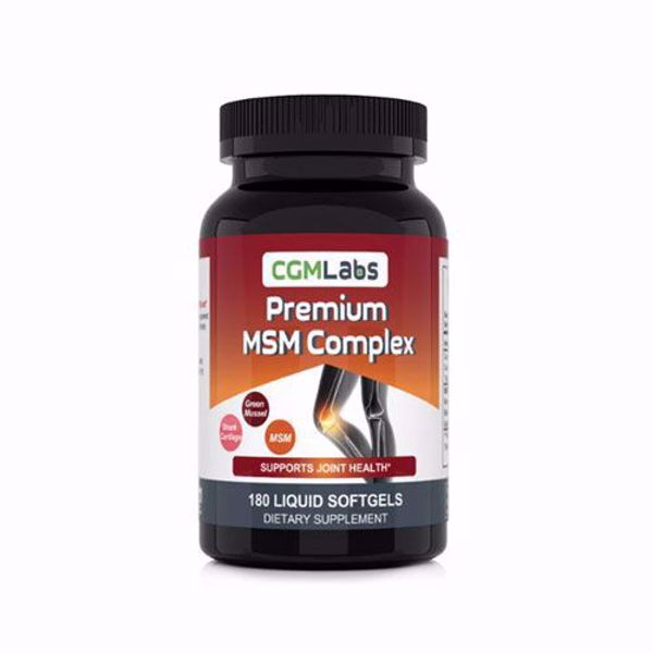 [Natural Health]Premium MSM Complex with Shark Cartilage, Green Mussel