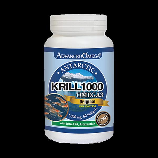 [Natural Health]Advanced Omega Krill Omega-3