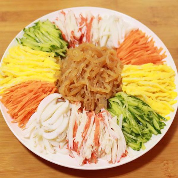 [YummyDiners] Jelly fish vegetable food 해파리냉채