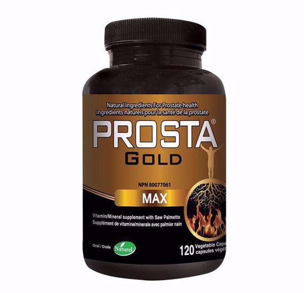 [Natural Health] Prosta Gold Max 500mg 120 Vcaps