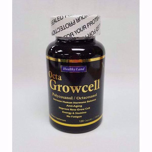 [HealthyLand] Octa Growcell, 120caps, 젊음유지, 피부재생, 인체노화방지, 근육재생